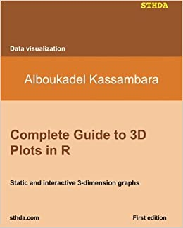 Complete Guide to 3D Plots in R: Static and interactive 3-dimension graphs: Amazon.es: Kassambara, Mr. Alboukadel: Libros en idiomas extranjeros