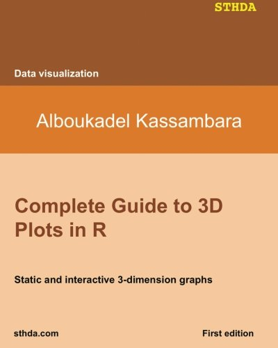 Read Online Complete Guide to 3D Plots in R: Static and interactive 3-dimension graphs PDF