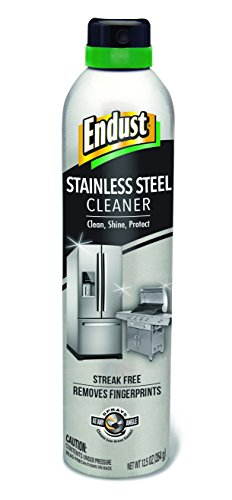 (Endust Stainless Steel Cleaner, 12.5 Ounce)