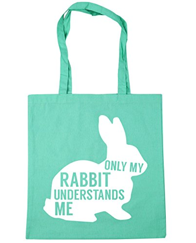 rabbit Shopping Bag Mint litres Beach x38cm 10 me HippoWarehouse my Only Gym Tote understands 42cm YTEREw