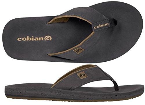 Cobian Men's The Ranch Flip Flop, Black, 10 M US