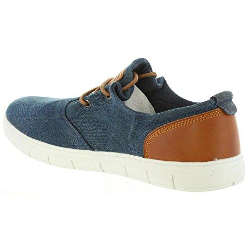 Fitness Bambu Bleu Bleu I243 de Homme MTNG Chaussures Canvas Marino qASFxt