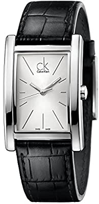 Calvin Klein Refine Leather Mens Watch K4P211C6