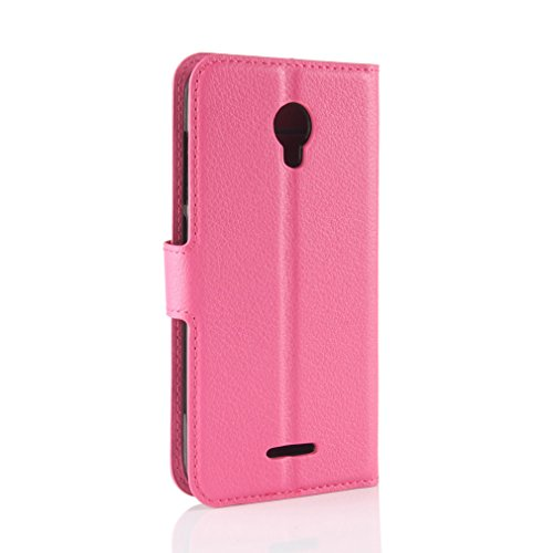 Book Redmi the 5 Design for 99 Magnetic Solid PU Card Case Style Leather Color Litchi Stent Cover Slot LMFULM and Plus 5 Function cover Red Inch Xiaomi Closure of Rose Protection Xiaom Leather with Flip for wt1Wq