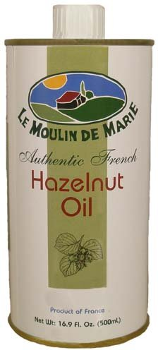 Hazelnut Oil - 16.9 Ounce by Le Moulin de Marie