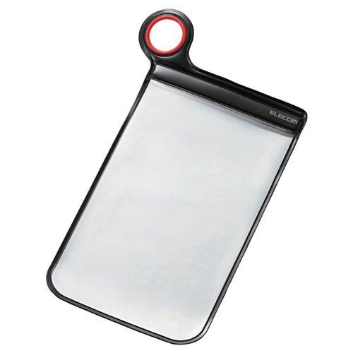 哲学博士スムーズに失効ELECOM スマートフォン用防滴ケース 汎用 XLサイズ iPhone6s/6s Plus対応 ブラック P-03DPBK