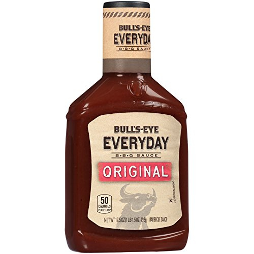 Bull's-Eye Everyday Original Barbecue Sauce, 17.5 Ounce