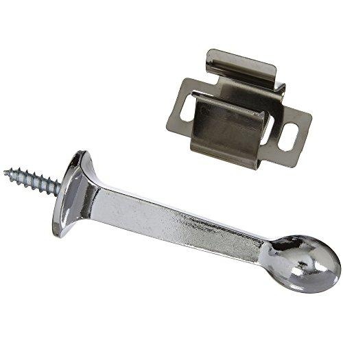 Chrome Rigid Door Stop (National Hardware N327-122 228 Rigid Door Stops in Chrome, 3