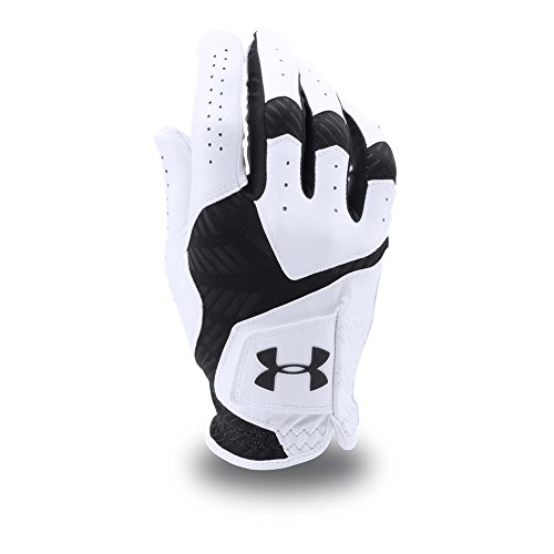 Under Armour Men's CoolSwitch Golf Glove, White/Black, Left Small