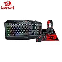 SWIFTGAMES INC | Redragon M908 Impact RGB LED MMO Mouse with
