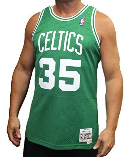 Mitchell & Ness Boston Celtics Reggie Lewis Swingman Jersey NBA Throwback Green ()