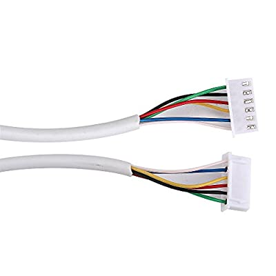 MAOTEWANG 50M 2.546P 6 wire cable for video intercom/Video Door Phone doorbell Cable/wired Intercom Cable