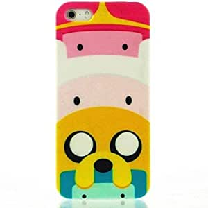 TY- Cartoon Pig Castles Pattern Hard Case for iPhone 4/4S