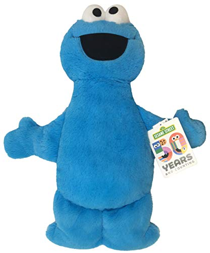 Monster Pillow - Jay Franco Sesame Street Plush Stuffed Cookie Monster Large Pillow Buddy - Super Soft Polyester Microfiber, 22 inch (Official Sesame Street Product)