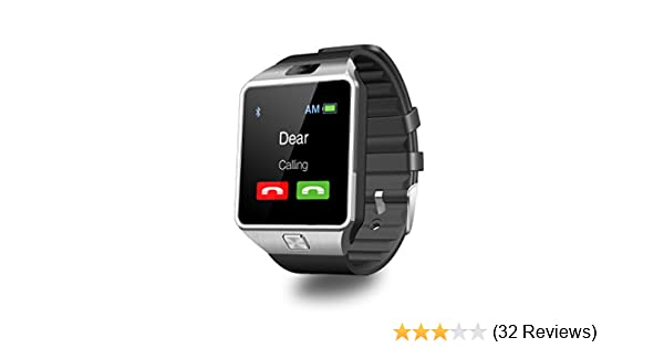 Amazon.com: DZ09 Smart Watch Android Sim Card Slot Smartwatch with TF Card Camera by Heshi Inc: Electronics