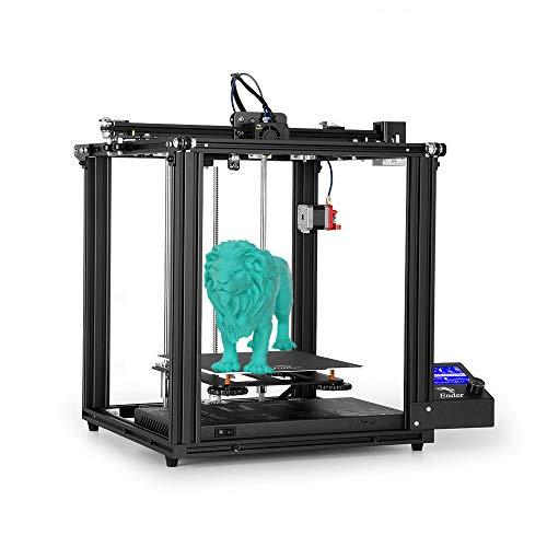 Creality Ender 5 Pro 3D Printer with Silent Motherboard Dual Y-axis PTFE Tubing 220x220x300mm Build Volume