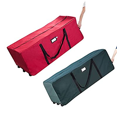 Superieur Elf Stor Premium Rolling Duffle Bag Style Christmas 9 FT Tree Storage Bag