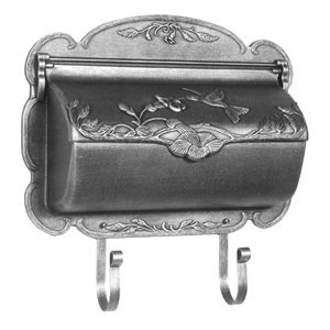 - Hummingbird Horizontal Mailbox in Copper (Swedish Silver)