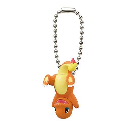 Pokemon-XYZ-tsumande-tsunagete-figura-Swing-Keychain-hitokage-Charmander-glumanda-salamche