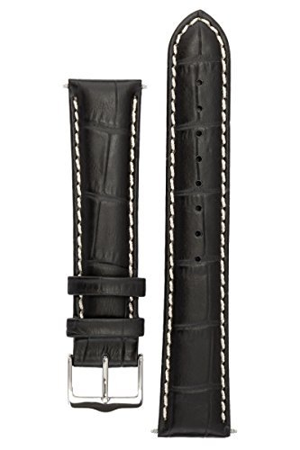 signature-montana-in-black-24-mm-watch-band-replacement-watch-strap-genuine-leather-silver-buckle