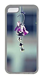 Durable Mobile Phone Protection Shell Lovely Wind ChimesCases For iPhone 5C - Summer Unique Wholesale 5c Cases Transparent Soft Edge Case