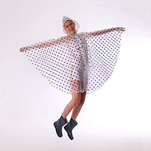 Poncho Poncho Poncho 2 Senza Adult Adult Adult Adult Pioggia Single Raincoat Travel Poncho Fashion Trasparente Cappello Women Eaves Giovane Outdoor Bike 6wwdq0Z