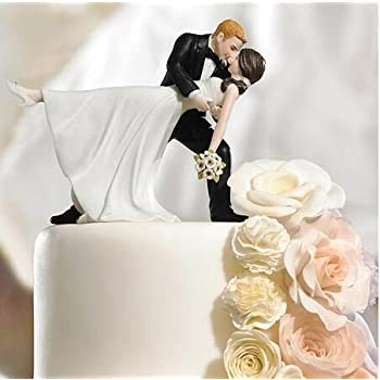 Willow Tree Funny Posture Bride And Groom Wedding Cake Topper