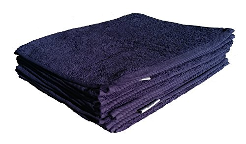 Navy Golf Towel - robesale Terry Towels, Golf Towels, Navy Blue, Set of 6