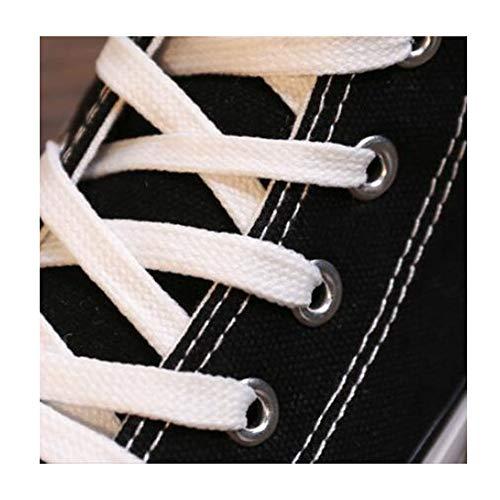 La Sauvage Coréenne Étudiant Version Nouvelles De Printemps Haute Plat À Fh Eu36 Noir couleur Chaussure Fond Toile Chaussures cn36 uk4 Size Femme 7A6cBWBvZ