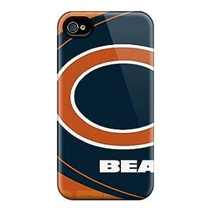 AnnaDubois Iphone 6 Shock-Absorbing Hard Phone Case Custom Colorful Chicago Bears Pattern [JRM8642DCDe]