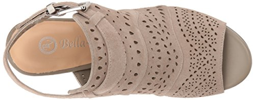 Suede Vita Sandal Dress Women's Fonda Bella Stone Kid 0fT7wxq