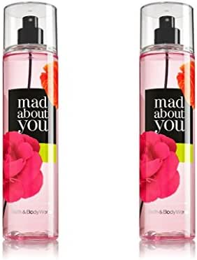 Set of 2 Bath & Body Works Mad About You Fine Fragrance Mist 8 oz Each