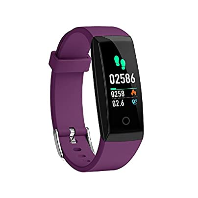 OOLIFENG Activity Tracker Heart Rate Monitor Watches Bluetooth IP67 Waterproof Smart Wristband For Ios And Android Estimated Price £38.26 -