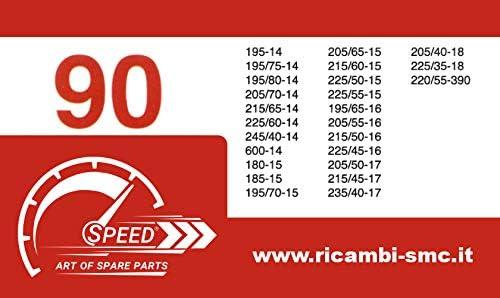 Catene da Neve OMOLOGATE Speed 9mm per GOMME 205 55 R 16 Gruppo 90