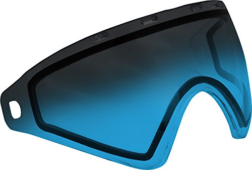 Virtue VIO Replacement Paintball Goggle Lens - Fits Ascend / Contour / Extend and XS Masks - Thermal Fade Blue