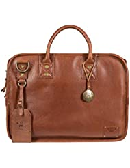 Will Leather Goods Mens Hank Satchel - 15.6 Inches