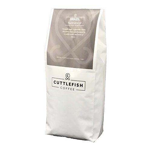 Brazil Fazenda Carmo I.P. Single Origin Freshly Roasted Coffee Beans Perfect For Espresso, Cafetiere, Aeropress, Chemex and Hario - 250g Whole Beans