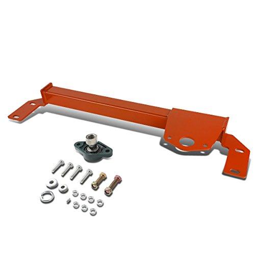 D Mild Steel Steering Gear Box Front Stabilizer Bar/Brace (Red) - BR BE 2nd gen (Heavy Duty Steering Stabilizer)