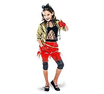 disfraz de punky de los años 80 para niña amazon es juguetes y juegos