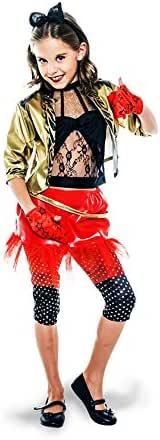 Disfraz de Punky de los años 80 para niña: Amazon.es: Juguetes y ...