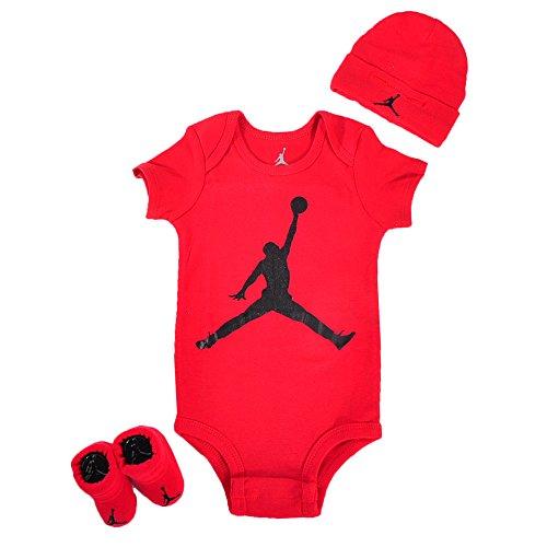 Jordan Baby Boys' 3-Piece Set - red, 0 - 6