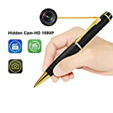 Camera Pen, LEEGOAL Portable HD 1080P Wireless Meeting Video Recorder USB Port, Plug Play