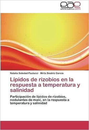 Lípidos de rizobios en la respuesta a temperatura y ...