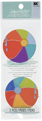 (Jolee's By You Dimensional Stickers Slim, Beach)