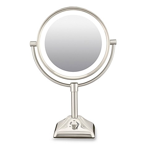 Conair Variable Lighted Mirror Nickel