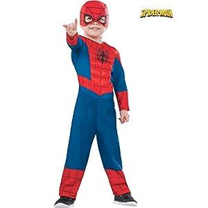 - 41DfFZ 9nbL - Rubie's Costume Co Dlx Ultimate Spider-Man Costume