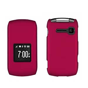 For Kyocera Coast Kona S2150 Hard Cover Case with LF Stylus Pen Accessory (Pink)