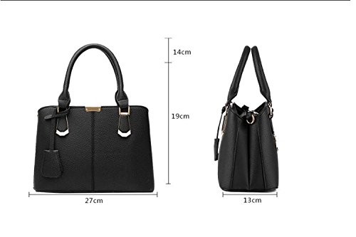 Lady Fashion B JPFCAK Hand Leisure Elegant Bags City Ms Bag Handbag Simple Litchi wXZq0