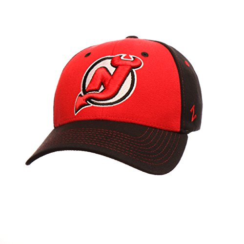 NHL New Jersey Devils Men's Uppercut Hat, Large, Red