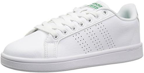 adidas NEO Men's Cloudfoam Advantage Clean Sneakers, White/White ...